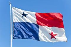 флаг Панама Стоковое Изображение