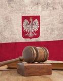Флаг Польша Стоковые Фотографии RF