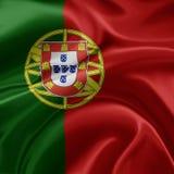 флаг Португалия Стоковое Изображение RF