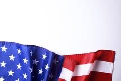 Флаг предпосылки Соединенных Штатов Америки на национальное федеральное торжество праздников и оплакивая день памяти погибших в п стоковые фото