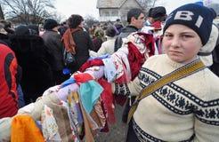 флаг ребенка баптиста Стоковые Фотографии RF