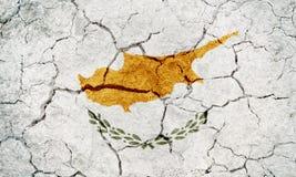 Флаг Республики Кипр Стоковая Фотография