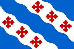 Флаг Роквилл в Montgomery County Мэриленда, США бесплатная иллюстрация