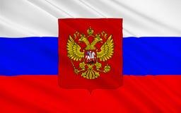 флаг Россия стоковая фотография