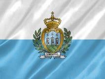 Флаг Сан-Марино бесплатная иллюстрация