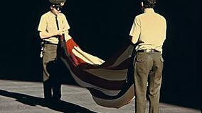 Флаг Сан-Франциско американский видеоматериал