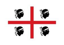 Флаг Сардинии иллюстрация штока