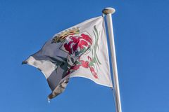Флаг славного Стоковые Фотографии RF