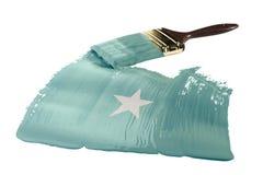 флаг Сомали Стоковые Фотографии RF