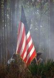 флаг сражения Стоковые Изображения