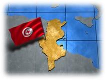 флаг страны свой Тунис бесплатная иллюстрация