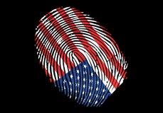 флаг США америки Стоковое фото RF