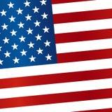флаг США также вектор иллюстрации притяжки corel иллюстрация штока