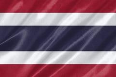 Флаг Таиланда иллюстрация штока