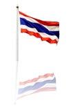 Флаг Таиланда Стоковые Фотографии RF