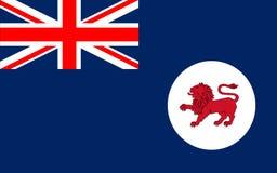 Флаг Тасмании островное государство Австралии бесплатная иллюстрация