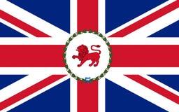 Флаг Тасмании островное государство Австралии иллюстрация вектора