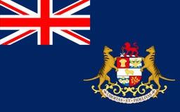 Флаг Тасмании островное государство Австралии иллюстрация штока