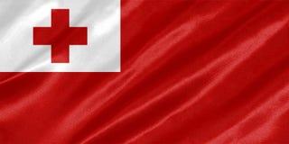Флаг Тонги стоковые изображения rf