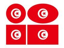 Флаг Туниса - Тунисская Республика