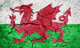 Флаг Уэльс иллюстрация штока