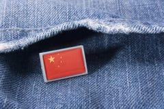 флаг фарфора Стоковая Фотография RF
