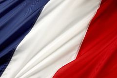 флаг Франция Стоковое фото RF