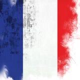 флаг Франция Стоковое Изображение RF