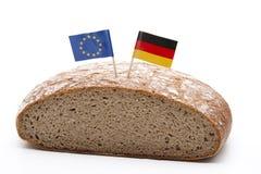 флаг хлеба Стоковое Изображение