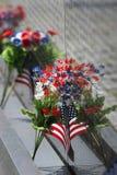 флаг цветет meomorial стена Вьетнама Стоковые Изображения