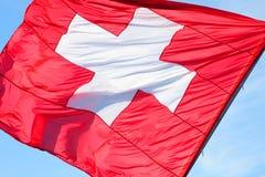 флаг Швейцария Стоковые Фотографии RF