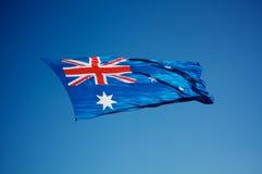 флаг 002 австралийцев Стоковое Изображение