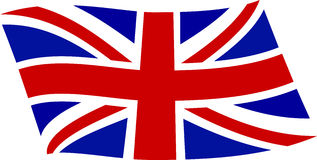 Флаг 2 Великобритании Стоковая Фотография RF