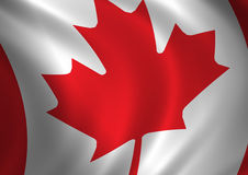 флаг 2 Канада Стоковые Фотографии RF