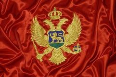 флаг 8 montenegrian Стоковое Изображение RF