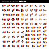 Флаг Andora, иллюстрация вектора Стоковое фото RF