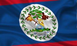 флаг belize Стоковое Изображение