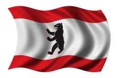 флаг berlin Стоковые Фотографии RF