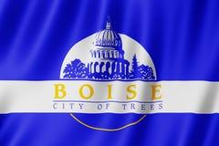 Флаг Boise City, Айдахо США бесплатная иллюстрация