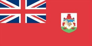 флаг burmuda Стоковое Изображение RF