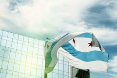 флаг chicago Стоковые Изображения