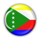 флаг comoros Стоковое Фото