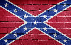 флаг confederate Стоковое фото RF