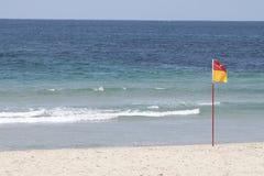 флаг cronulla пляжа Стоковое Изображение