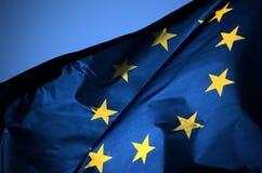 флаг eu Стоковая Фотография RF