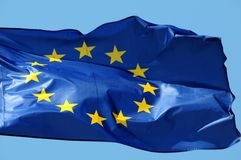 флаг eu Стоковое фото RF