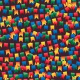Флаг Festa Junina много безшовная картина иллюстрация штока