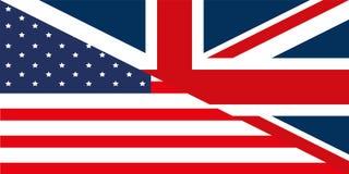 флаг gb США иллюстрация вектора