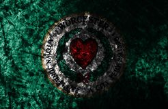 Флаг grunge города Вустера старый, предпосылка, положение Массачусетса, Соединенные Штаты  стоковые фотографии rf