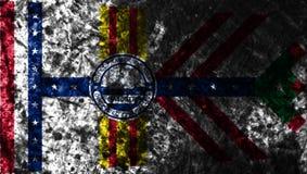 Флаг grunge города Тампа, положение Флориды, Соединенные Штаты Америки бесплатная иллюстрация